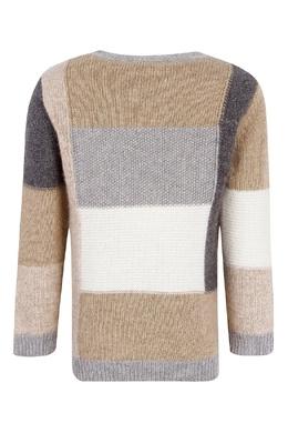 Разноцветный вязаный свитер Il Gufo 1205153496