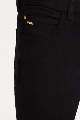 Черные хлопковые джинсы Emporio Armani 2706153903
