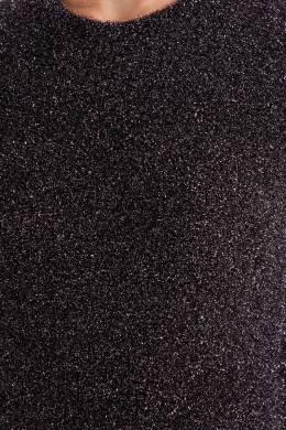 Серый жилет с серебристой отделкой Maje 888153461