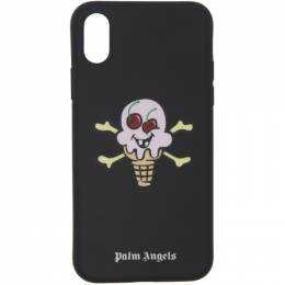 Palm Angels Black ICECREAM Edition iPhone X Case 192695M15300401GB