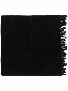 Yohji Yamamoto шарф с бахромой FCL01162