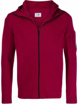 CP Company - lens-detail zip-up hoodie MKN636A665565M955959