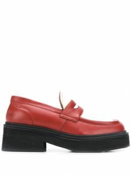 Marni - contrast panel chunky loafers S666865LA39693363336