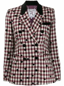 Tommy Hilfiger - check double breasted blazer WW069699559689300000