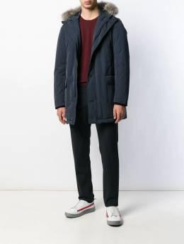 Herno - куртка с мехом на капюшоне 660U9006595593366000