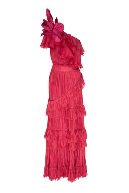 Розовое платье макси God of the Night Johanna Ortiz 2942153734