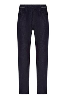 Темно-синие джинсы из хлопка Emporio Armani 2706153902