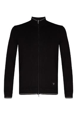 Черный кардиган на молнии Emporio Armani 2706153852