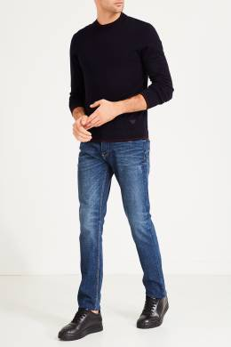 Ярко-синие джинсы Emporio Armani 2706153893