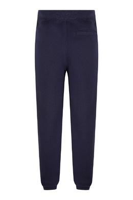 Синие спортивные брюки с надписью Ralph Lauren Kids 1252153200