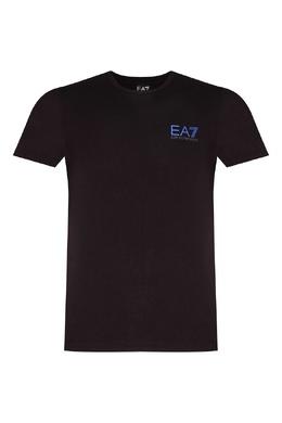 Черная футболка с логотипом Ea7 2944154426