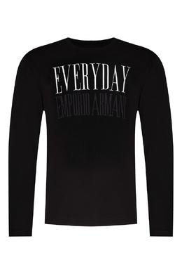 Джемпер черного цвета Emporio Armani 2706153813