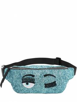 Glittered Faux Leather Belt Bag Chiara Ferragni 70IFII021-U0tZ0