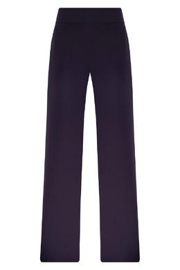 Фиолетовые брюки из полиэстера Emporio Armani 2706154208