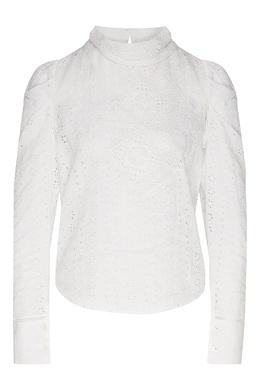 Белая блузка с ажурной отделкой Isabel Marant 140154886