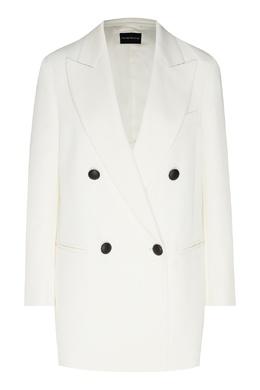 Пиджак белого цвета Emporio Armani 2706154168