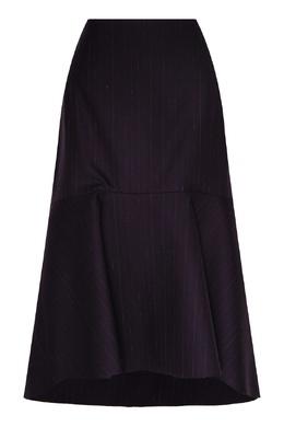 Темно-синяя юбка-годе Balenciaga 397154683