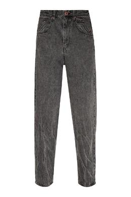 Серые джинсы с «вареным» эффектом Isabel Marant 140154880