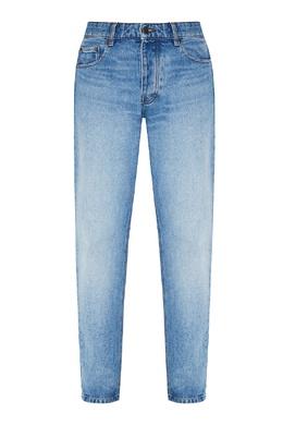 Зауженные джинсы из хлопка Ami 1376154495