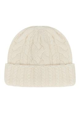 Белая шапка с косами Ami 1376154499