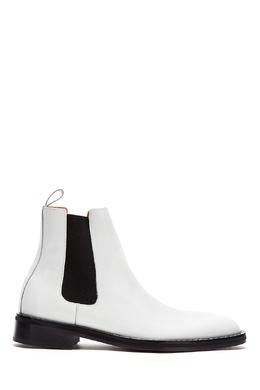Ботинки-челси белого цвета Ami 1376154505