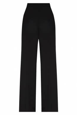 Широкие брюки черного цвета Emporio Armani 2706154188