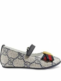 Gucci Kids балетки 'GG Supreme' 418995KLQ80