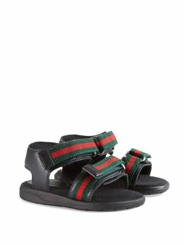 Gucci Kids - сандалии с ремешками Web 359BLN96906556090000