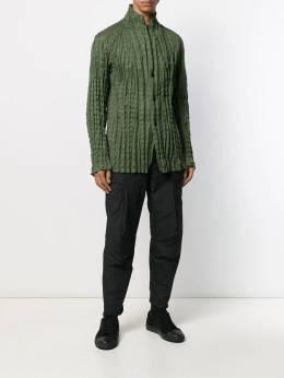 Issey Miyake Men - рубашка со складками 8FD65395563655000000