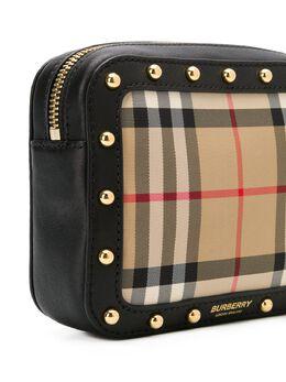 Burberry Kids - поясная сумка в клетку Vintage Check 86369550608900000000