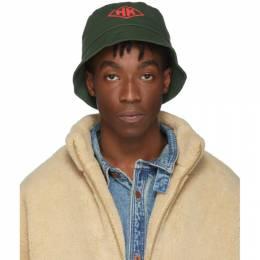 Han Kjobenhavn Green HK Bucket Hat 192827M14000101GB