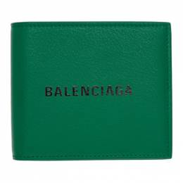 Balenciaga Green Grained Everyday Wallet 192342M16400601GB