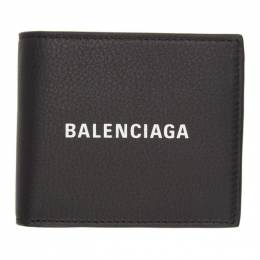 Balenciaga Black Grained Everyday Wallet 192342M16400501GB