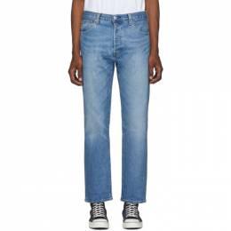 Levi's Blue 501 93 Straight Jeans 192099M18600805GB