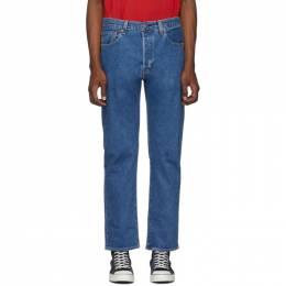 Levi's Blue 501 93 Straight Jeans 192099M18600607GB