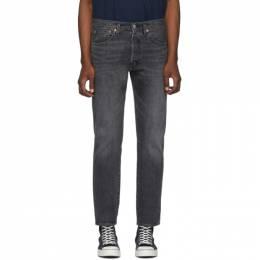 Levi's Grey 501 Slim Taper Jeans 192099M18600907GB