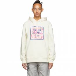 Opening Ceremony Off-White Box Logo Hoodie 192261F09700902GB