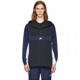 Nike Black and Navy Re-Issue Jacket 192011M18000702GB