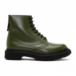 Etudes Green Adieu Edition Type 29 Lace-Up Boots 192647M25500205GB