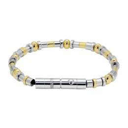 Ambush Silver Metal Beads Bracelet 192820M14200602GB