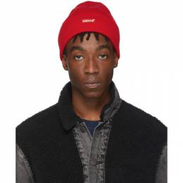Levi's Red Slouchy Beanie 192099M13800201GB