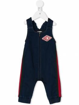 Gucci Kids - джинсовый комбинезон на молнии 098X9V03939959530000