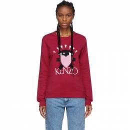 Kenzo Pink Limited Edition Cupid Eye Sweatshirt 192387F09801504GB