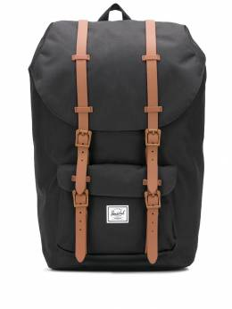 Herschel Supply Co. - рюкзак Little America с нашивкой-логотипом 996503BLACKBROWN9553