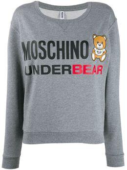 Moschino - толстовка Teddy Bear с логотипом 69960695509566000000