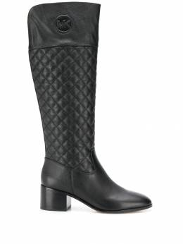 Michael Michael Kors - quilted monogram boots 9DYMB6L6669553336300