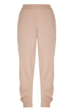 Бежевые брюки со сборками Stella McCartney 193152728