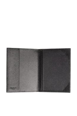 Черная сафьяновая обложка для паспорта Serapian 2443154610