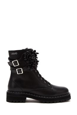 Черные кожаные ботинки Liu Jo 1776155175