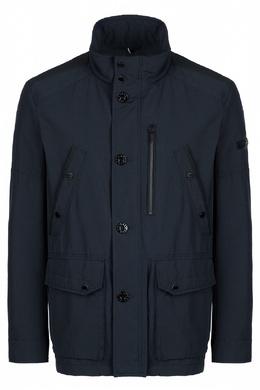Темно-синяя куртка с карманами Strellson 585155171